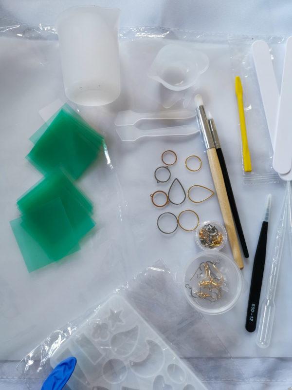 UV-Harz Materialpaket